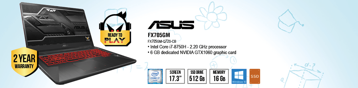 S.R.S Informatique - FX705GM-Q72S-CB