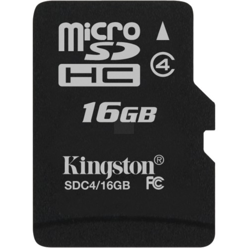 Storage-Flash Memory Cards - SDC4/16GBCR